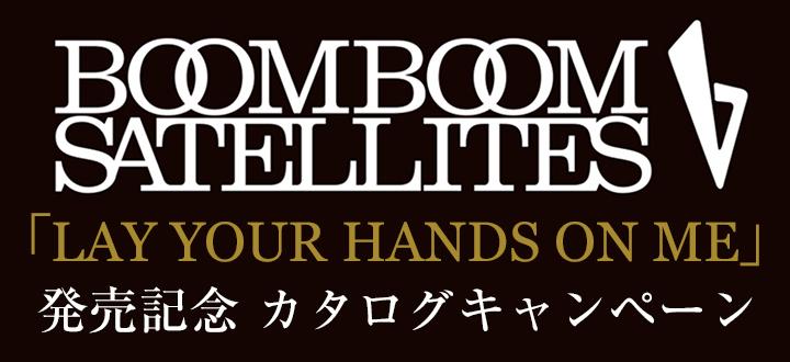 ブンブンサテライツ lay your hands on me 発売記念 カタログキャンペーン sony